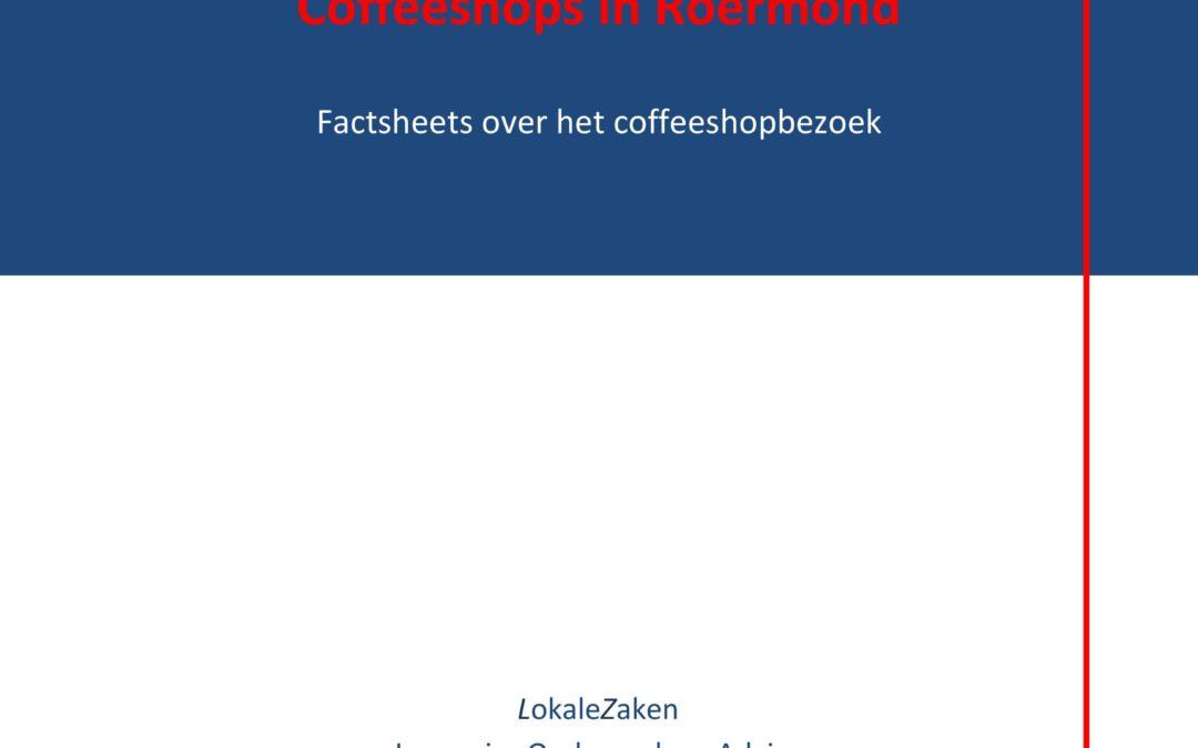 Coffeeshops in Roermond. Factsheets over het coffeeshopbezoek (drie vervolgmetingen), 2016.