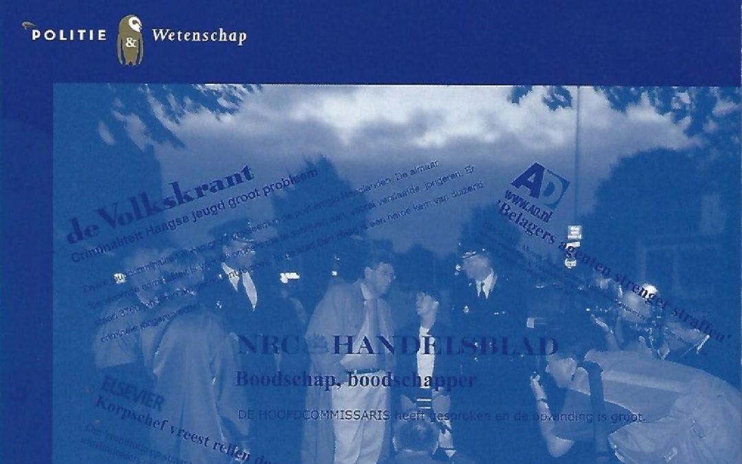 Politiepolitiek: een empirisch onderzoek naar politiële signalering en advisering (met E. Bervoets), Den Haag, Elsevier, 2009.