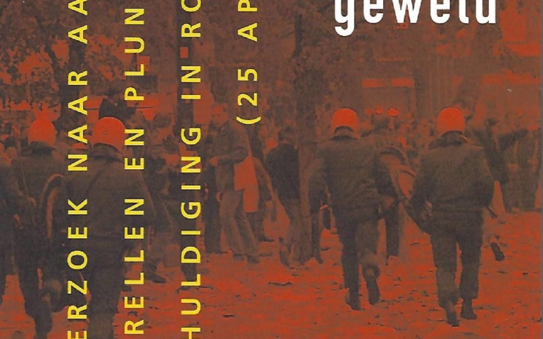 Voetbal en geweld: Onderzoek naar aanleiding van rellen en plunderingen bij een huldiging in Rotterdam – 25 april 1999 (met U. Rosenthal, A. Ruitenberg en M.H.M. Hulshof), Alphen aan den Rijn, Samsom, 1999.
