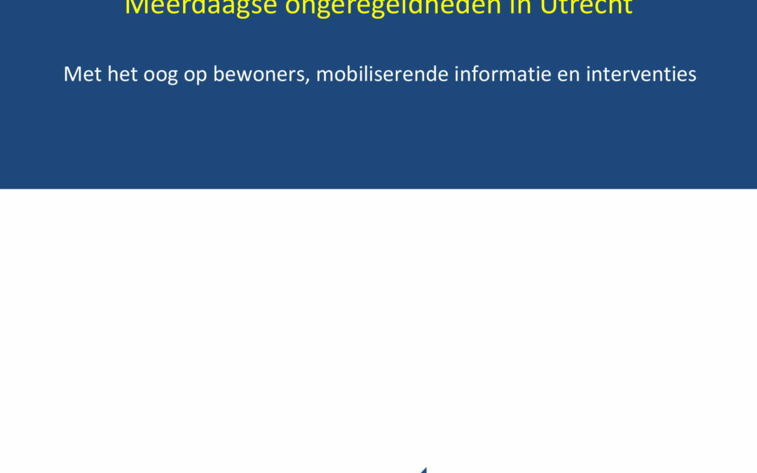 Meerdaagse ongeregeldheden in Utrecht